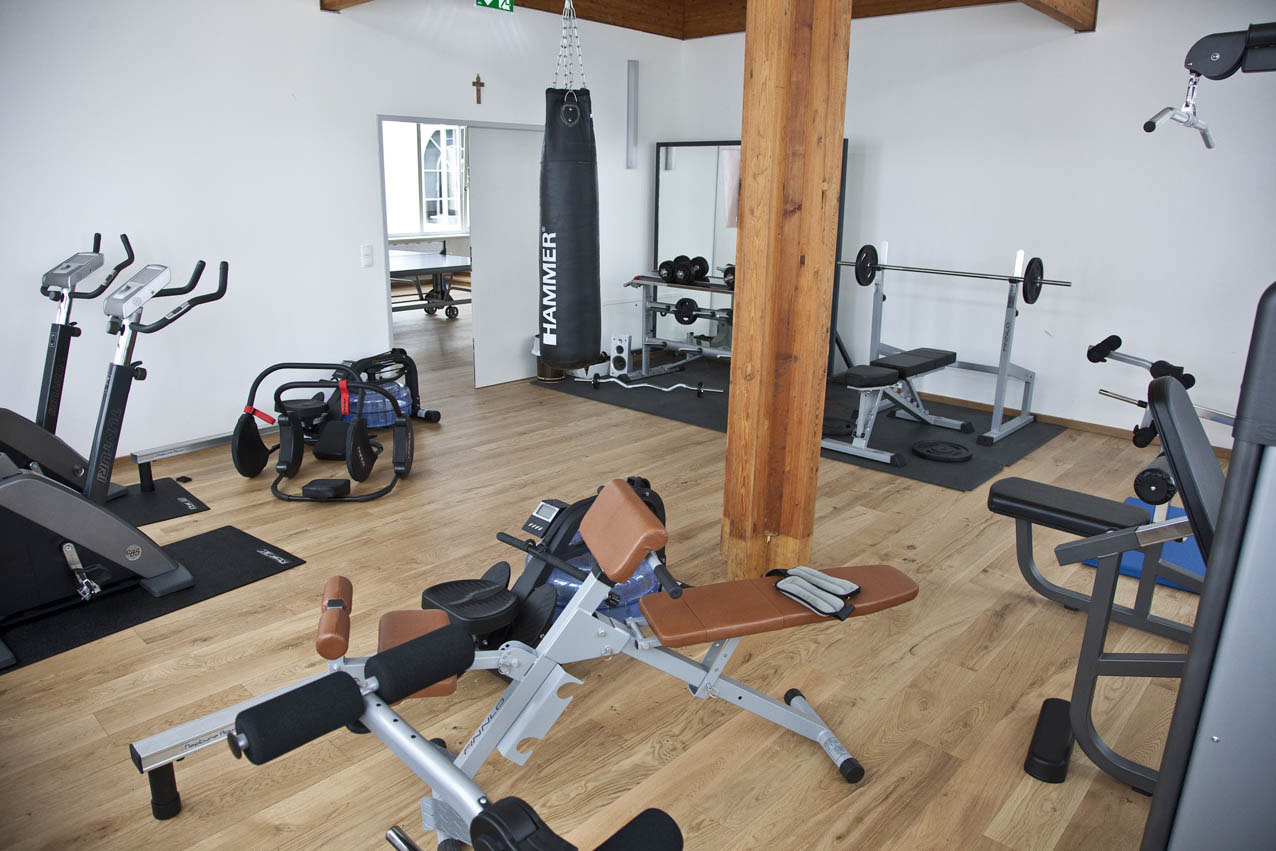 Fitnessarea of the residence