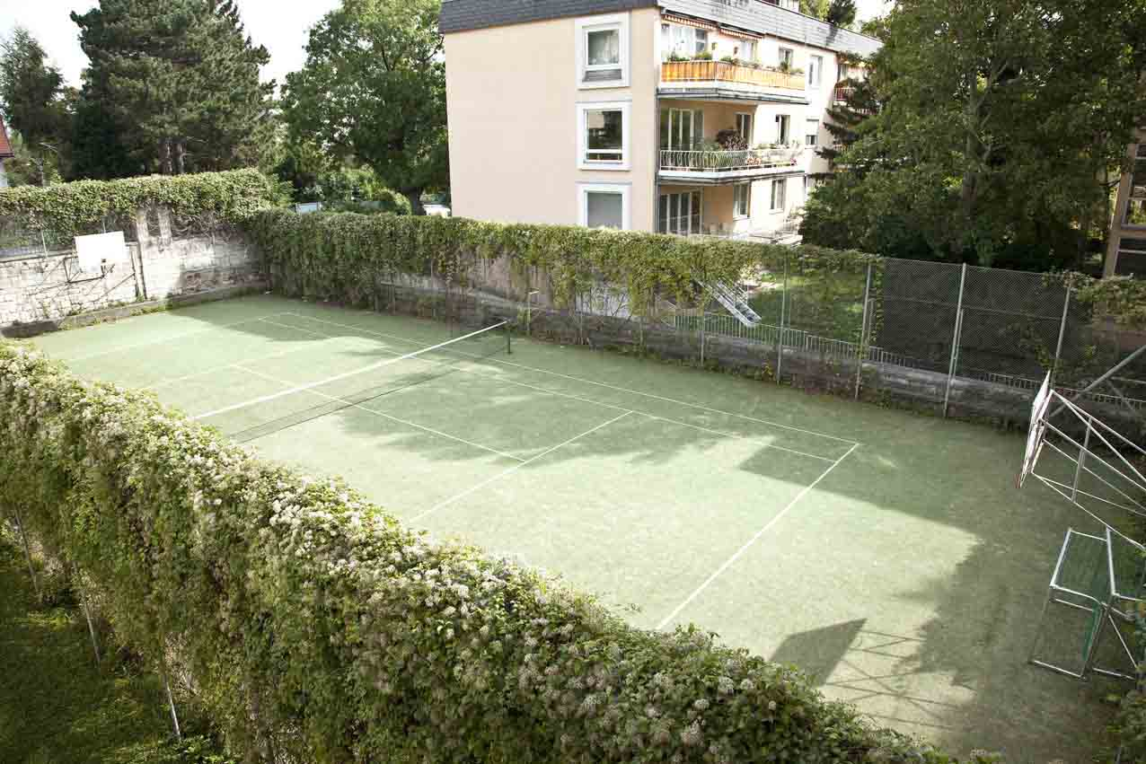 The Tennis Court of the Residence
